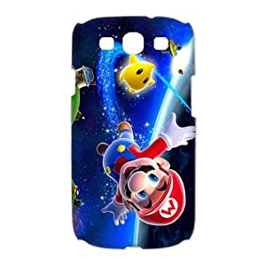 High Quality PC Nintendo Hot Game Super Mario Bros Cute Picture DIY Phone Case Shell for Samsung Galaxy S3 i9300 3D Case-4
