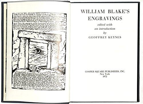 ravings. (William Blake Engravings)