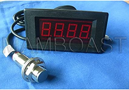 Digitale Drehzahlmesser Rpm Led Speed Meter Halle Näherungsschalter Npn Sensor Auto