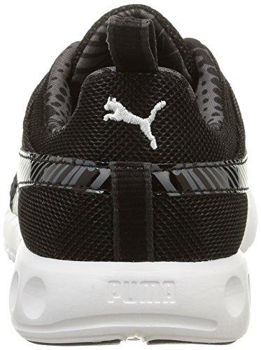 Basses Baskets Puma Graph Femme Carson FS Blanc Noir wq1xUz