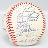 1994 Texas Rangers Team Signed Baseball 26 AUTO 's w/ Will Clark Includes PSA/DNA LOA