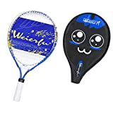weierfu Junior Tennis Racket for Kids Toddlers Starter Racket 17-21″ with Cover Bag Light Weight(Strung)