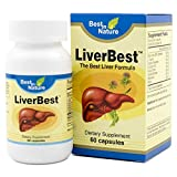LiverBest – Vitamin Promotes Healthy Liver Function, Enhance Detoxification – with Milk Thistle, L-taurine, Sophora Flavescens, Schizandra, Kudzu Extract, Choline Bitartrate.