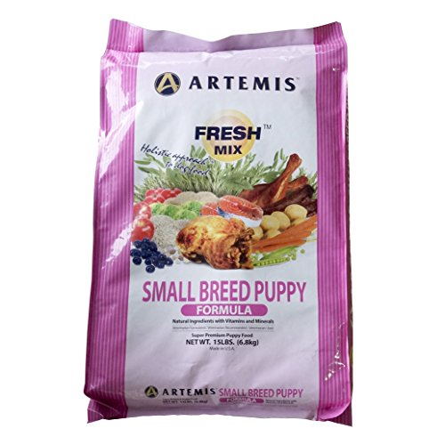 Artemis 133003 Fresh Mix Small Breed Puppy Food, 15-Pound