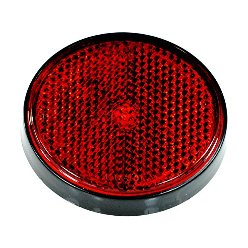 Red Mini Reflectors - Red Rear Side Reflector for the Baja Mini Bike MB165 & MB200