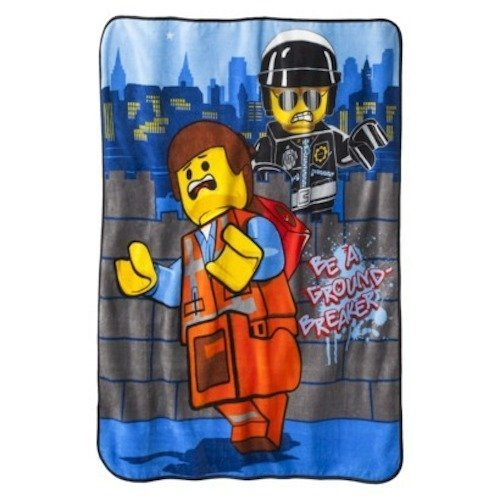 - 5Star-TD The Lego Movie 46' x 60' Micro Plush Throw
