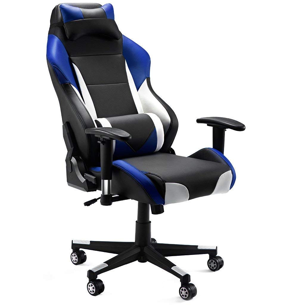 Adjustable Height With Slypnos SupportSwivel Executive Style Office Back ChairRacing Gaming Lumbar Recliner Computer Chair High Ergonomic qpMGUzVS