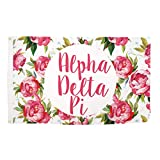 Cheap Desert Cactus Alpha Delta Pi Rose Pattern Letter Sorority Flag Banner Greek Letter Sign Decor ADPi