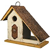 Carson Covered Porch Birdhouse 10.25 Inches Length x 5 Inches Width x 9.75 Inches Height Wood Home Decor