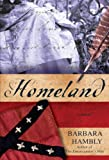 Front cover for the book Homeland: A Novel by Barbara Hambly