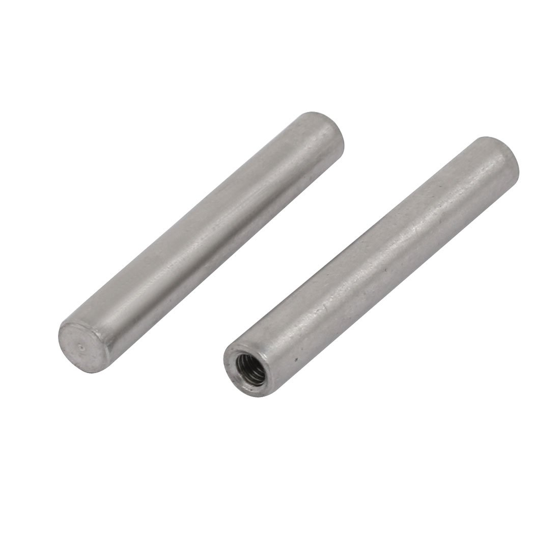 sourcingmap 304 Stainless Steel M3 Female Thread 5mm x 35mm Cylindrical Dowel Pin 2pcs a17110100ux0034