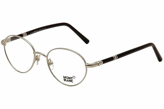 ab41484d49 Eyeglasses Montblanc MB 527 MB0527 016 shiny palladium at Amazon ...