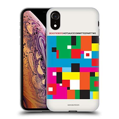 Official Beastie Boys Hot Sauce CommitteeAlbum Band Art Soft Gel Case Compatible for iPhone XR (Beastie Boys Sauce)