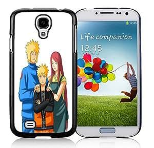 Popular Designed Case With Minato Kushina and Naruto Cover Case For Samsung Galaxy S4 I9500 i337 M919 i545 r970 l720 Black Phone Case CR-414