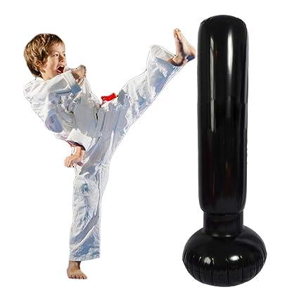Amazon.com: Eforoutdoor saco de boxeo inflable Power Tower ...