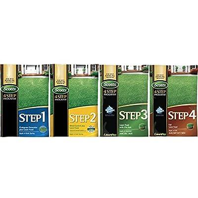 Scotts 4 Step Program - 15, 000 Sq. Ft (Complete Step 4 Program) : Garden & Outdoor