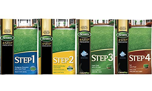 Scotts Complete 4 Step Lawn Program - 5,000 Sq. Ft. by Scotts (Image #1)