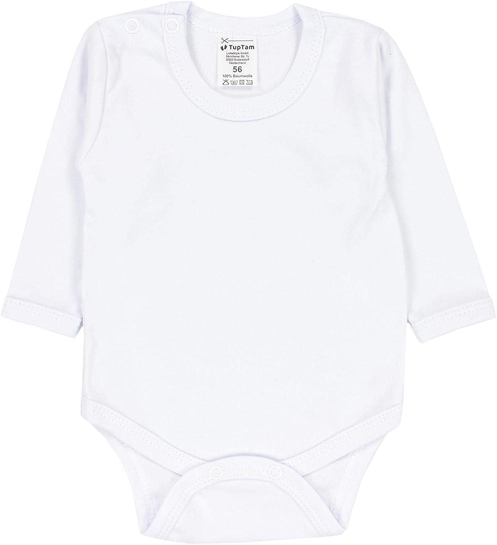 TupTam Body para Beb/és Ni/ño Manga Larga Paquete de 5