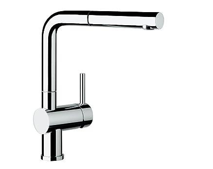 Blanco Linus-S Vario rubinetteria da cucina, finitura metallizzata ...