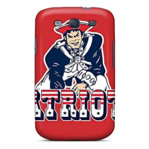 LittleBox ESf16517vkNu Case Cover Galaxy S3 Protective Case New England Patriots
