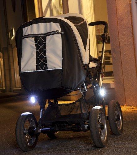 4 St/ück Kinderwagen Licht LED Lampe Licht Sicherheitslicht Silikon Leuchte Kinderwagen Blinklicht Taschenlampe f/ür alle Kinderwagen Bergsteiger Kinderwagen Zubeh/ör
