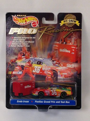 Hotwheels Pro Racing Nascar Collector Edition Pit Crew 1998 Ernie Irvan (Nascar Pit)