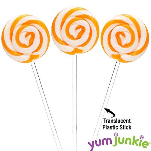 Swipple Pops Petite Swirl Ripple Lollipops - 60-Piece Tub -