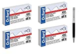 Oxford Heavy Weight Index Cards, 3'' x 5'', Ruled, White, 100/Pack, Sold As 4 Packs - Bundle Includes Plexon Ballpoint Pen