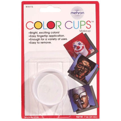 Color Cup Carded Clwn White DD250