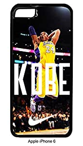 Kobe Bryant iPhone 6 Hard Case Custom Lakers dope swag illest (Black)