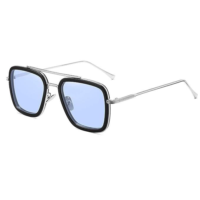 Amazon.com: Gafas de sol Spider Man Edith, marco de metal ...