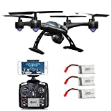 Contixo F5 WiFi FPV Quadcopter Drone w/ HD Camera, Live Video For Aerial Photography, Altitude Hold, Auto Return, Easy to Fly for Expert Pilots & Beginners Great Gift Idea