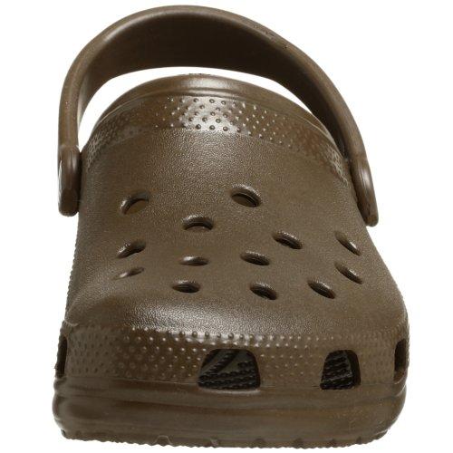 Crocs Classic - Zuecos unisex Marron