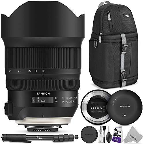 Tamron SP 15-30mm f/2.8 Di VC USD G2 Lens for Nikon F w/Tamr