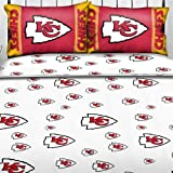 Northwest NOR-1NFL821001007WMT Kansas City Chiefs NFL Full Sheet Set