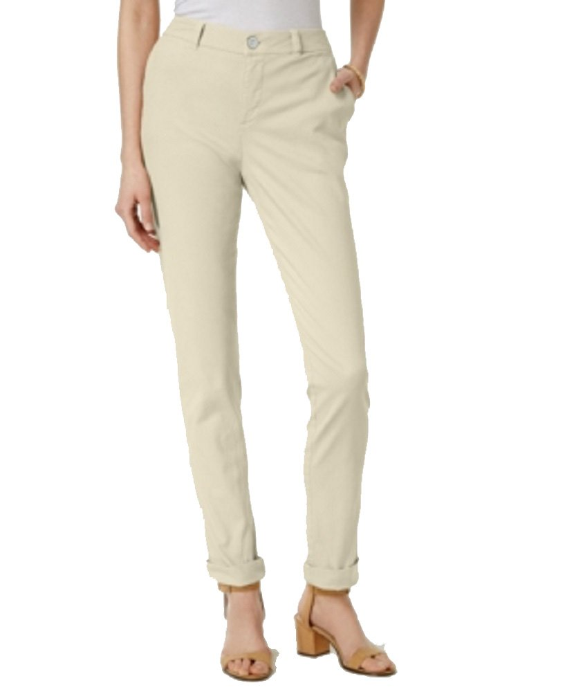 Style & Co. Cuffed Colored Pants Stonewall 12