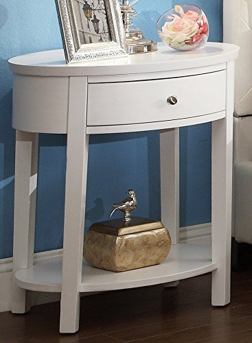Homelegance Accent Table (Inspire Q 1 Drawer Oval Accent Table)