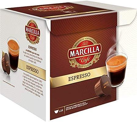 MARCILLA Espresso - cápsulas compatibles con las cafeteras Nescafé ...