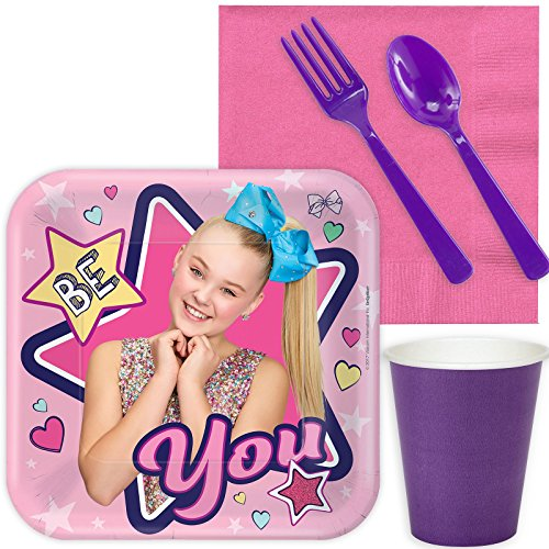 BirthdayExpress JoJo Siwa Party Supplies Snack Pack for 16]()