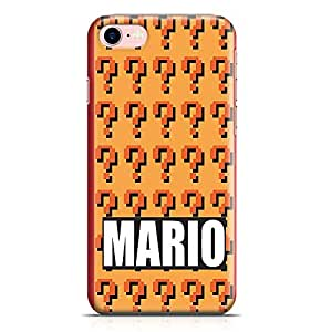 Loud Universe Mario Brother iPhone 7 Case Mario Pattern iPhone 7 Cover with 3d Wrap around Edges