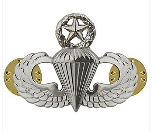 - Vanguard AIR FORCE BADGE PARACHUTIST MASTER - MIDSIZE