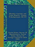 img - for Monthly Consular and Trade Reports, Volume 93, issues 356-357 book / textbook / text book