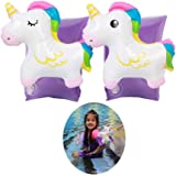 Inflatable Unicorn Arm Bands Swimming Boat Children Inflatable Sleeves Swim Circle Armbands Pool Toy for Kids