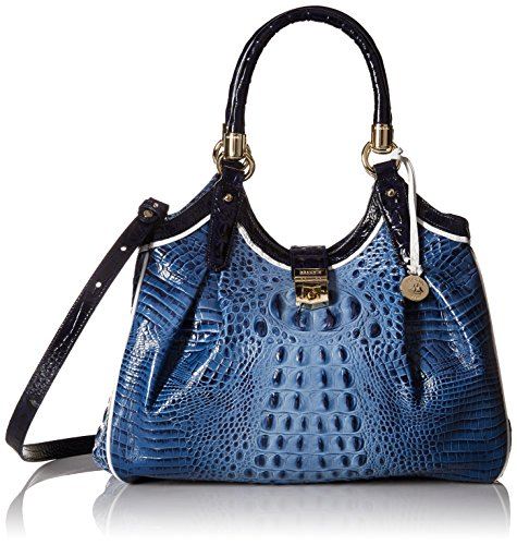Brahmin Elisa Shoulder Bag, Denim by Brahmin