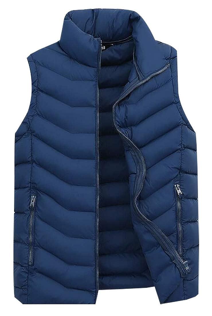 Generic Mens Lightweight Fall Winter Sports Cotton Vest Packable Down Waistcoat
