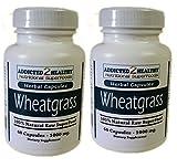 Cheap 120 Wheatgrass Powder Vegetarian Capsules