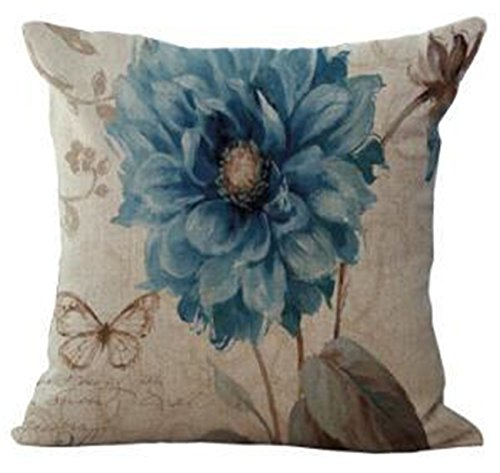 Decorative Pillows Cojin Almofadas Para Sofa Cushions Home Decor 3d Stereo Watercolor Flower Cushion Fundas De Cojines a13 Just cover