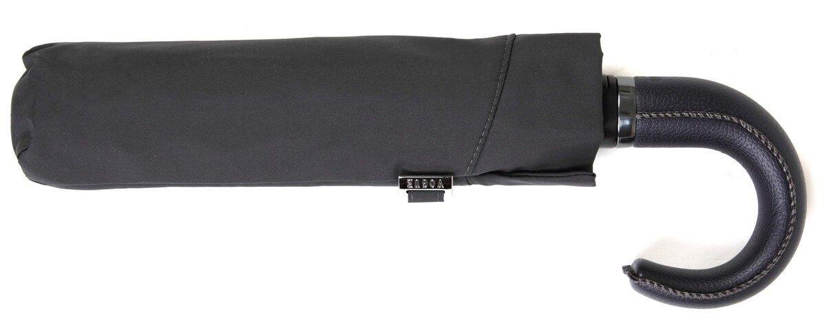 Paraguas Topless Plegable puño de Poli Piel. Paraguas Vogue Azul Marino: Amazon.es: Equipaje