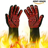 Best Grilling Gloves For Cooking - BBQ Cooking Gloves Heat-insulated Grill Glove - Kitchen Review