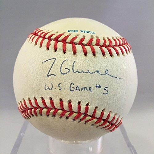 Tom Glavine Autographed Ball - 1991 World Series Game 5 - PSA/DNA Certified - Autographed Baseballs